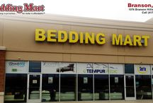 Mattress Store Branson MO / Shop for mattresses in Branson MO at Bedding Mart. Located at 1076 Branson Hills Pkwy. Call (417) 339-3030 for store hours, directions and current mattress specials.