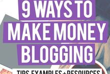 Make Money Online / How to make money from online and at home. Including blogging, how to start a blog, how to drive traffic to a blog, and how to monetize a blog!