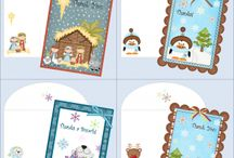 Christmas Cards and Gift Tags / by Kim @ HSKids & Families