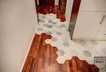 Podłoga / Ciekawe i niecodzienne przykłady wykończeń podłogi.
