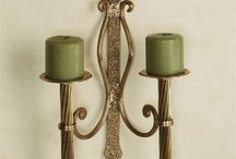 Accentuate your room with candle wall sconces