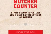 Butcher Counter / by Montana Beef Council