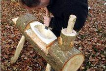 Tälja o träarbete