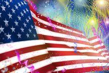 Independence Day / Dit borddingetje gaat over Independence Day voor Engels.