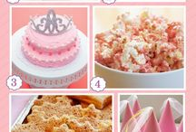 Cinderella Princess Party / Cinderella Princess First Birthday Party, Pink, Blue and Gold