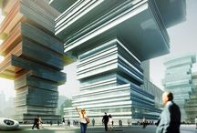 MVRDV Towers / Inspiration for those tall tall towers that we so love to design.