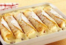 Crepes und Pfannkuchen