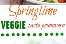 Springtime recipes