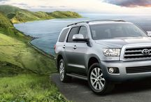 Toyota Sequoia in Savannah / Savannah Toyota serving Augusta and Macon, Georgia; as well as Charleston and Hilton Head Island, South Carolina is proud to be home of the Toyota Sequoia. http://www.savannahtoyota.com/inventory?type=new&make=Toyota&model=Sequoia