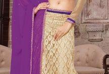Lehenga Cholis / Put your traditional look forward by wearing lehenga http:// bit.ly/1OYANCk