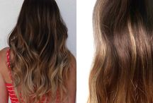 Inspired By Us / Here are some wonderful hair extension styles and colours inspired by us via our social media feeds.