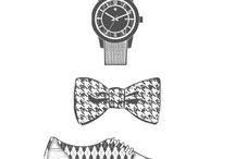 Stampin' Up! ~ Dapper Dad and Beyond Plaid / Stampin' Up! 'Dapper Dad' stamp set features 3 stamps, great for masculine cards or other papercraft projects. Includes bow-tie, lace-up shoe and wrist watch stamps. Coordinates with Stampin' Up! 'Beyond Plaid' stamp set. Both stamp sets found in 2013 Stampin' Up! Spring mini catalogue. Hurry stamp sets retire June 30th 2013.