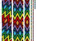 Схемы бисерных шнуров
