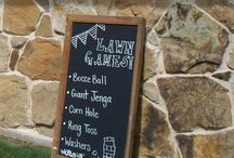 Outdoor Wedding Games / This board features popular games for outdoor weddings.