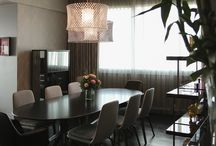 Private Residence in Bangkok / Aires 60 and Aires 80 lamps in gray and Cyanite black for this beautiful apartment in a high floor of a skyscraper on ChaoPraia river in Bangkok. All furnishings are by Minotti SpA.