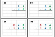 Ecole - maths - calcul - soustraction