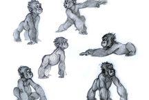 Animali disegnati