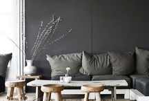 Home Inspiration: Black Accent Wall