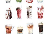 Illustration: Food / Illustrations of food and for menus