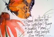 butterfly quotes / by Myra Jean Fullen