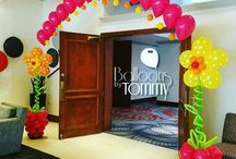 Bar Mitzvah and Bat Mitzvah Balloon Decor / Forget the stress of trying to decorate for your child's milestone celebration and let us help you with balloon decor to match whatever theme you choose!  Want more? Visit www.balloonsbytommy.com