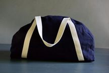 Sewing overnight bag