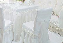 sandalye masa örtüsü