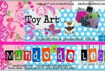 Toy Arte Mundo de Leca / Coisas feitas pela minha filhota