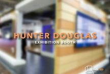 EXHIBITION BOOTH: HUNTER DOUGLAS / Desarrollo conceptual y formal de creación de espacio para la marca Hunter Douglas