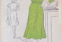 Oude naaipatronen
