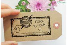 Logos,ideas for crochet