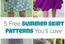 Stuff to sew / Sewing patterns collection