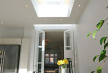 Light wells and rooflights