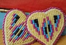 Heart earrings by Oyahte