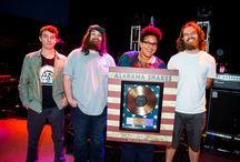 RIAA Gold & Platinum Record Awards / We make awards for rockstars!