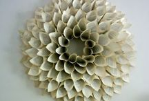 DIY Recycled Book Page Wreath