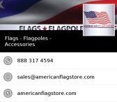 New App / New One Touch Access now Available thru our App! Just Click on Link and follow instructions to get our App Today! www.americanflagstore.appsme.com