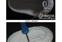 Slippers, Booties, Crocheted Sandals...