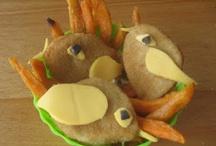 Koken met kinderen: vlees en vis