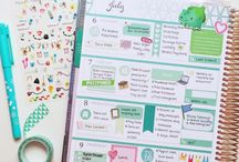 Planner layouts