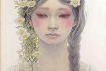 Mhio Hirano Pintor  Japones