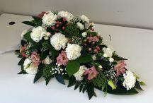 Surulaitteet- ja kimput, arkkulaitteet, funeral flowers