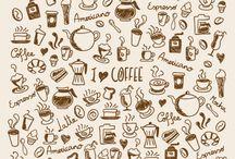 desenhos cafe