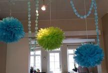 Hængende dekorationer / Gør festen mere sjov med denne hængende dekoration.