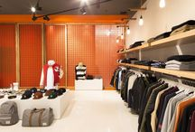 Retail Spaces / Various interios and furniture for various company spaces. Bars, shops, cafés, retail, hotels and so on ...