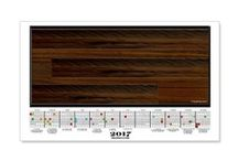 """2017 Calendars - Wall Decal Posters / These are the most amazing 2017 Wall Decal Calendars. Self adhesive backing will not harm walls. Put it on one wall, change your mind-peel it off and place it on another wall.  Vinyl coated. Use this link to see the large 35""""x21"""" Wall Decal Calendars    http://www.cafepress.com/cheylines/14087576"""