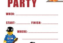 Party ideas ( Lego )