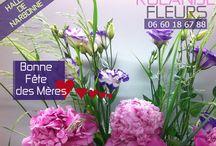 fête des mères fleuriste Rolande halles de Narbonne /   Rolande votre fleuriste à Narbonne aux halles sera heureuse de vous accueillir dans son étal de fleurs pour ce spécial fête des mères ce dimanche 29 mai 2016.   Dites-lui que vous l'aimez avec un bouquet de fleurs fraîches! Charmez, séduisez avec amour et tendresse pour la fête des mamans avec l'un de mes plus beaux bouquets spécial fête des mères, des compositions florales originales, colorées, contemporaines et champêtres.