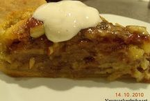 Verdens lækreste æbletærte af blomsterberg