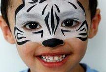 pintar caras de animales